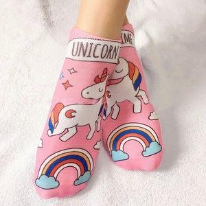 Accessories - Unicorn Rainbow Socks